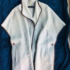 ZARA- CAPE Luxe Wool